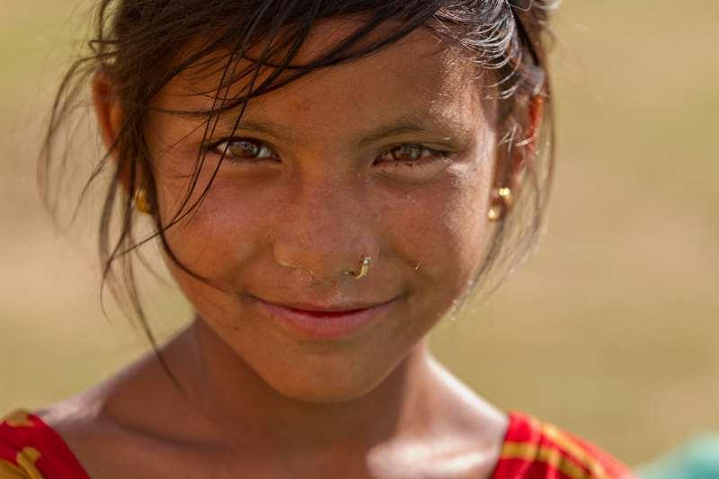 petite fille népalaise